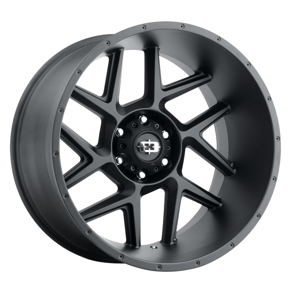 Vision Wheels 360 Sliver - Satin Black