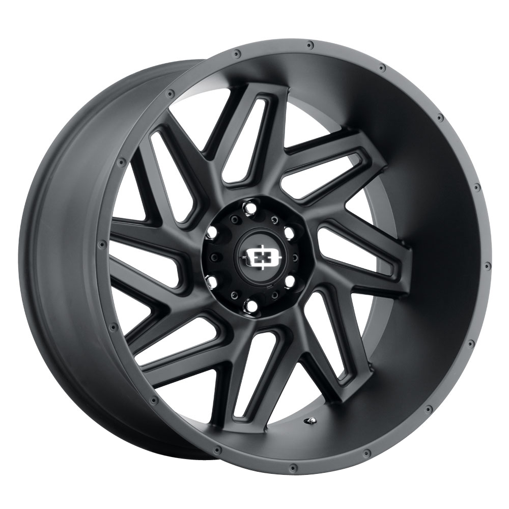 Vision Wheels 361 Spyder - Satin Black Rim