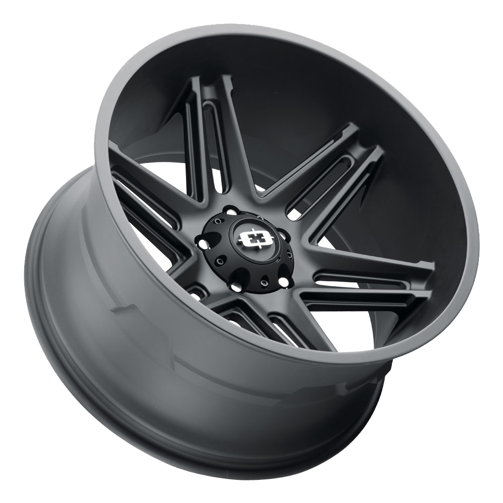 Vision Wheels 363 Razor - Satin Black Rim