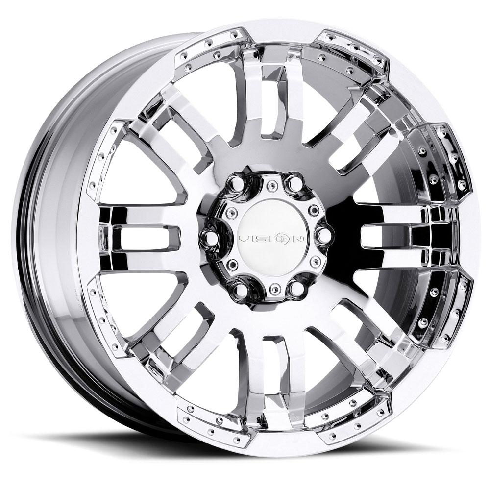 Vision Wheels 375 Warrior - Chrome