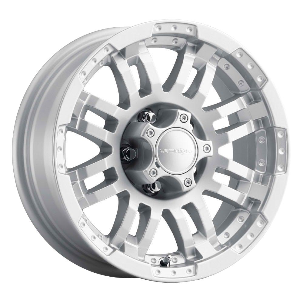 Vision Wheels 375 Warrior - Winter Paint-Silver (Salt Resistant) Rim