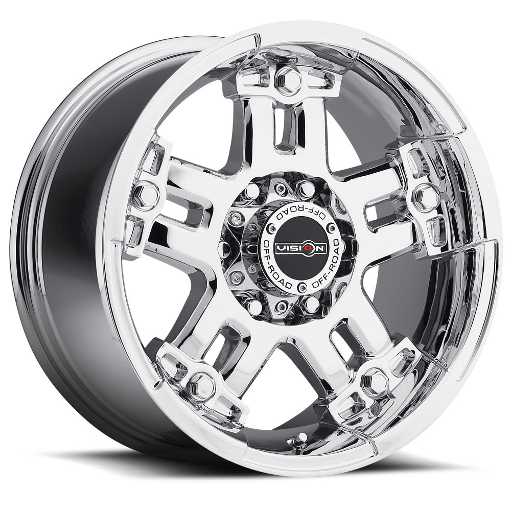 Vision Wheels 394 Warlord - Phantom Chrome Rim