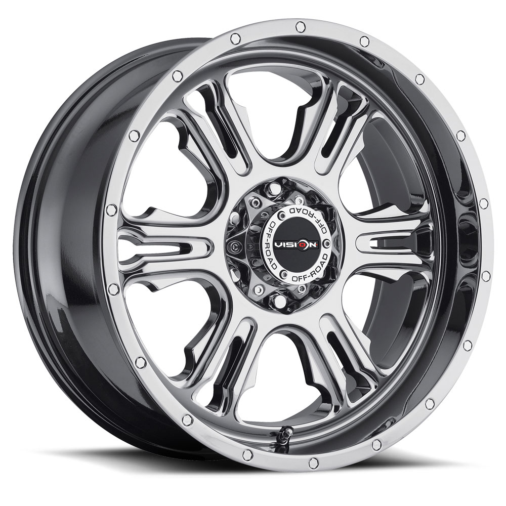 Vision Wheels 397 Rage - Phantom Chrome Rim