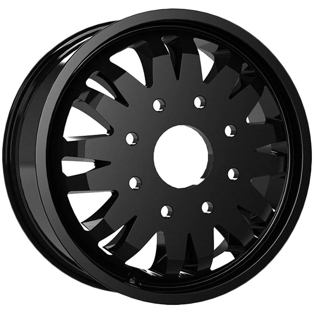 Vision Wheels 401 Rival Dually Inner - Satin Black Rim