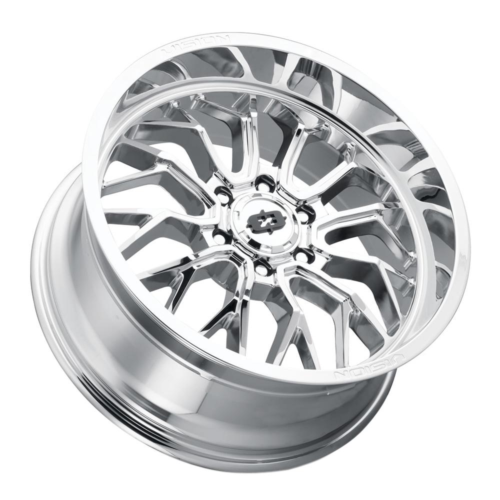 Vision Wheels 402 Riot - Chrome Rim