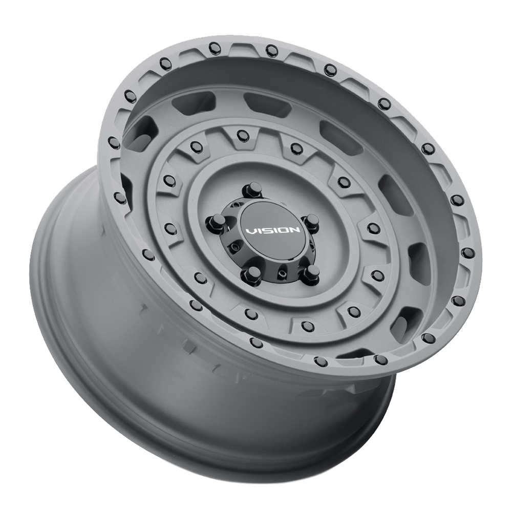 Vision Wheels 403 Tactical - Satin Black Rim