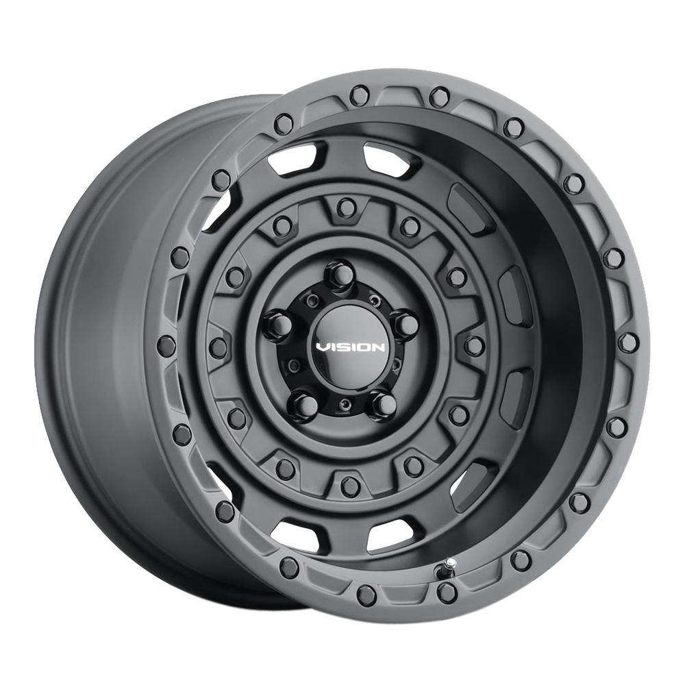 Vision Wheels 403 Tactical - Gunmetal Rim
