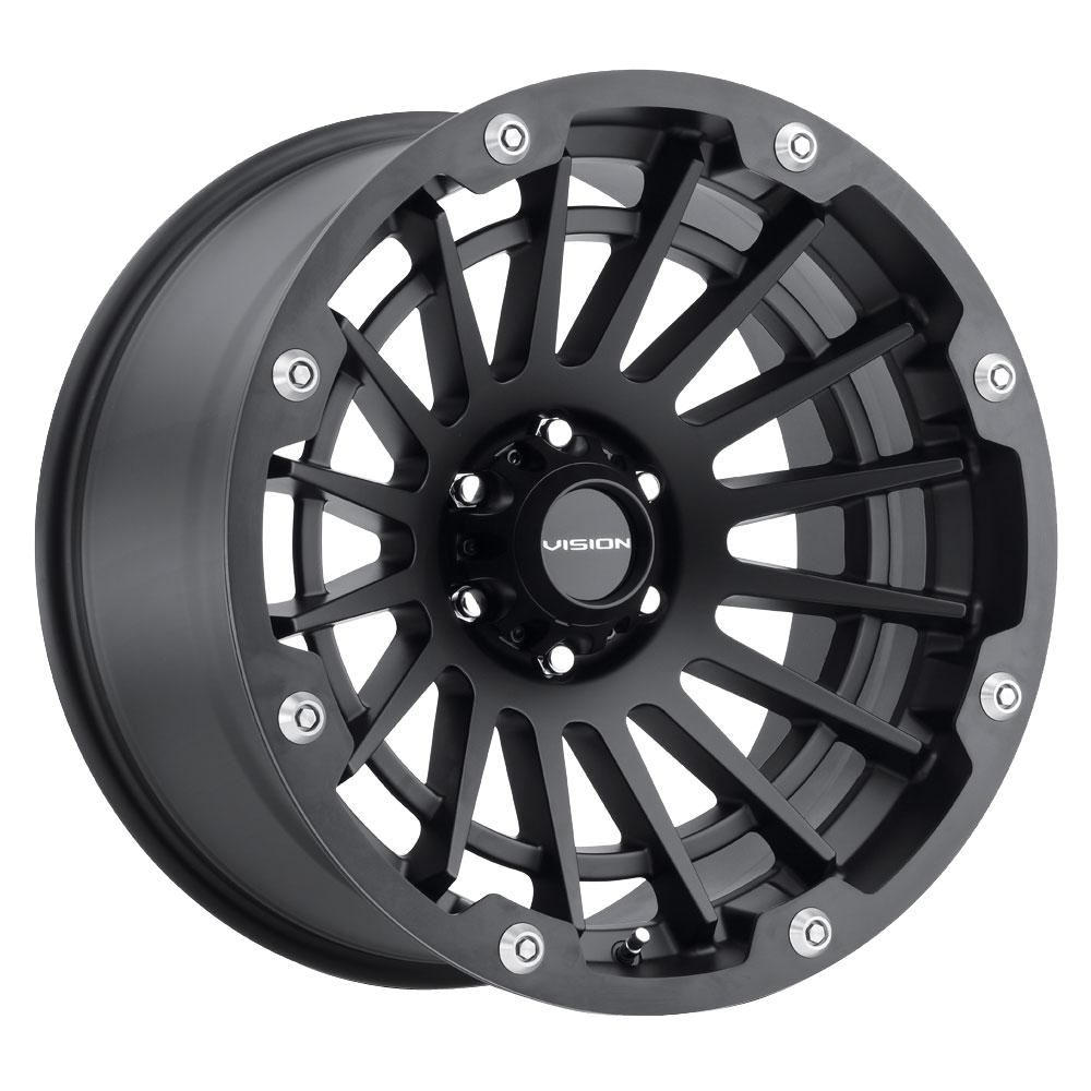 Vision Wheels Creep - Satin Black