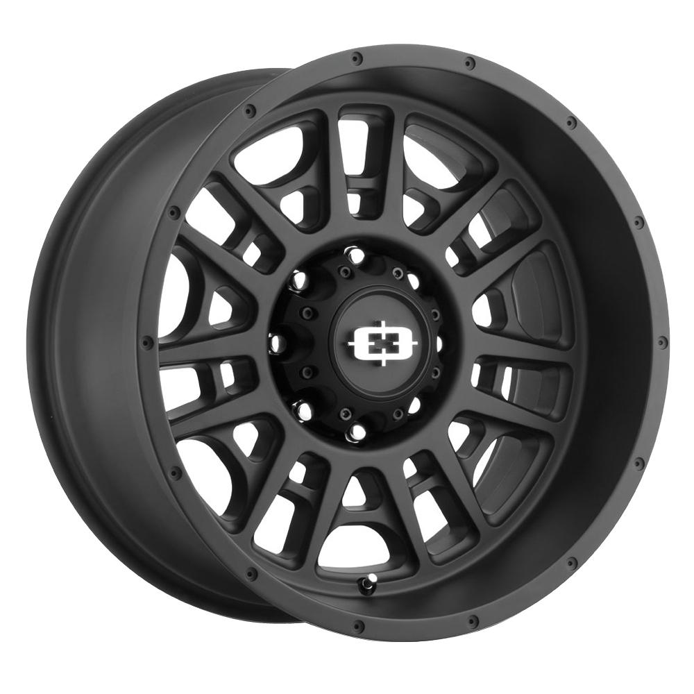 Vision Wheels Widow - Satin Black Rim