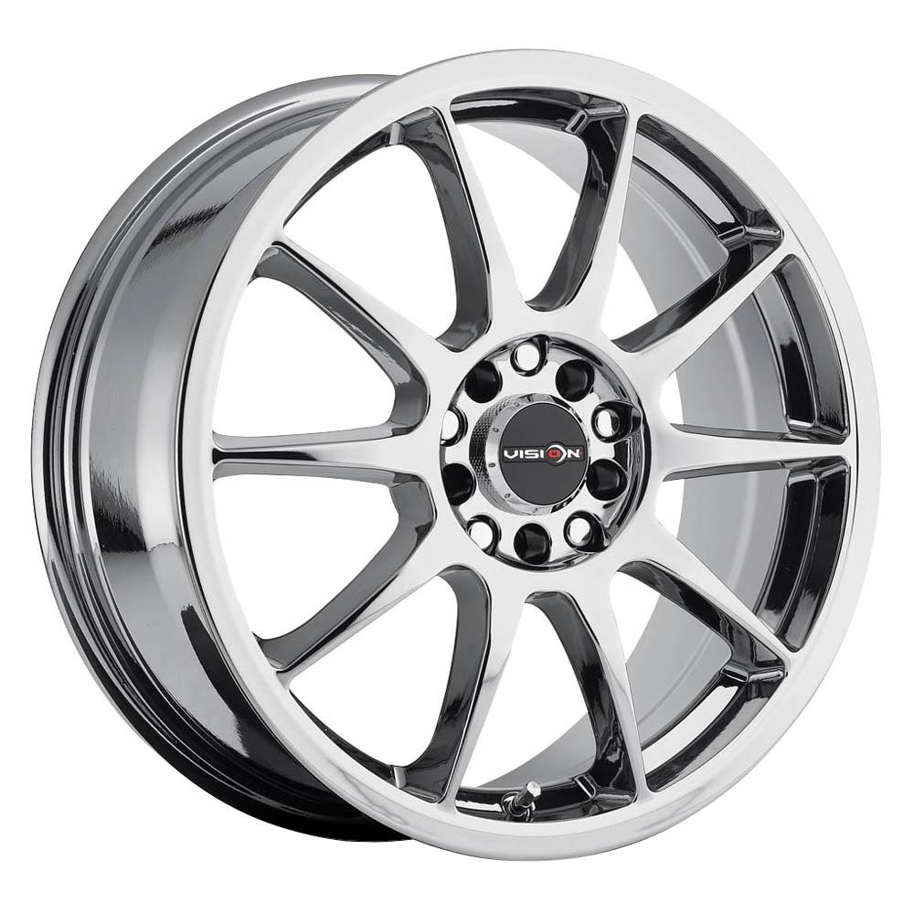 Vision Wheels Bane - Chrome Rim
