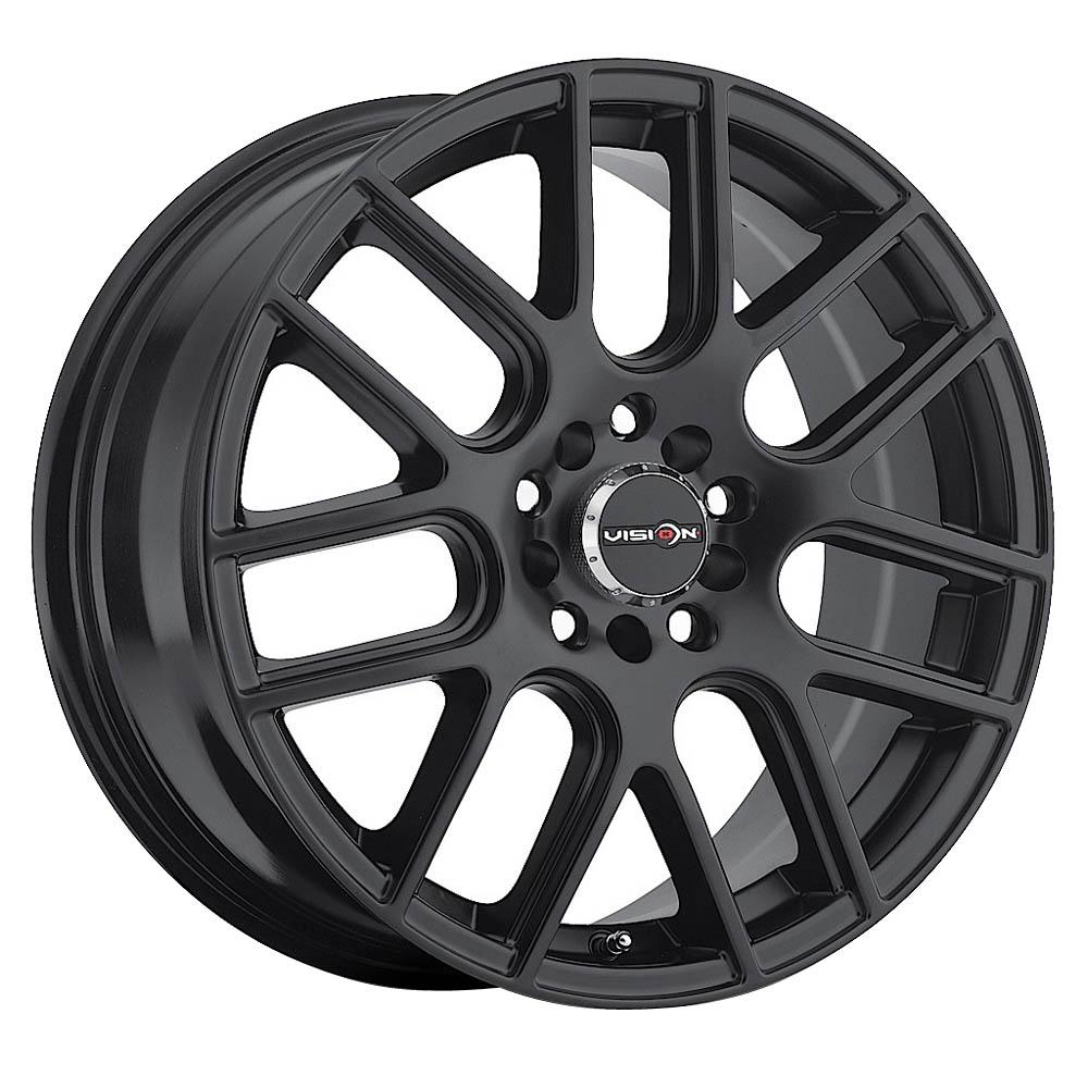 Vision Wheels 426 Cross - Matte Black