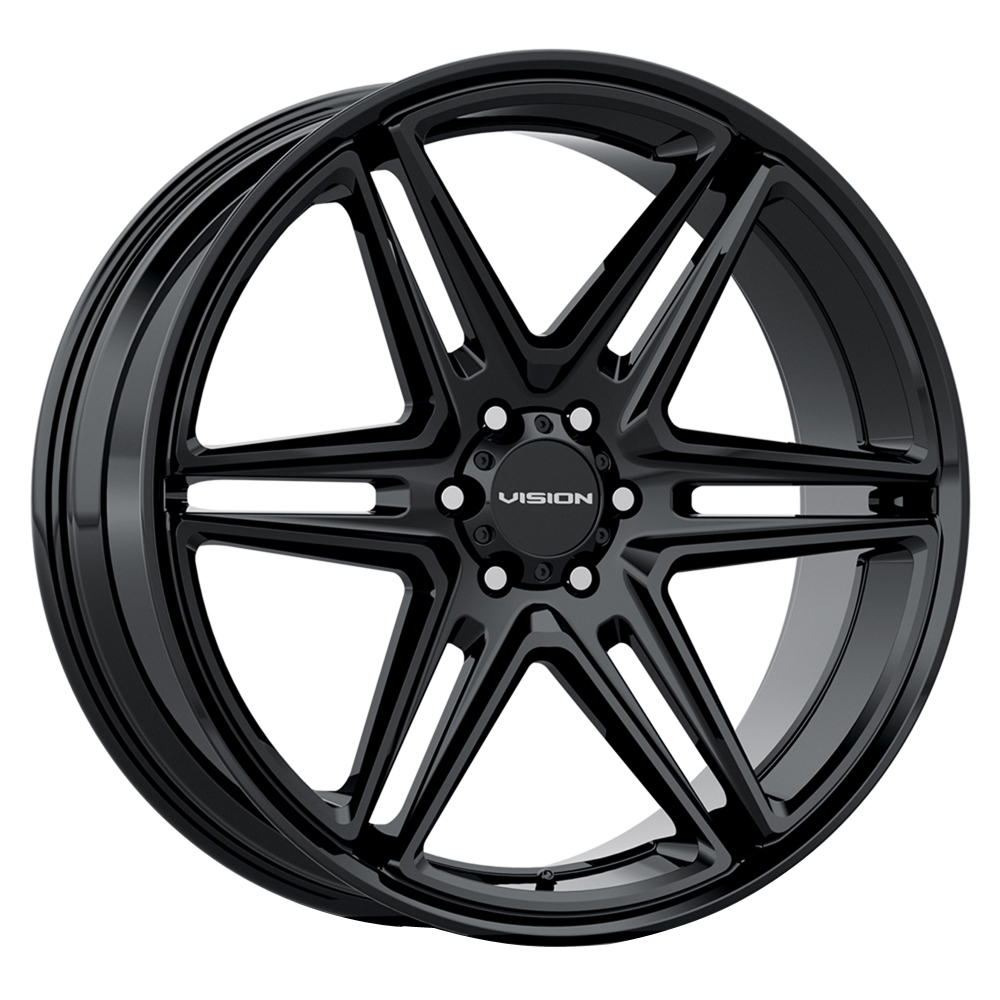 Vision Wheels 476 Wedge - Gloss Black