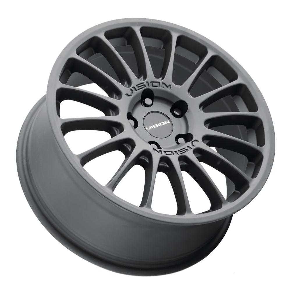 Vision Wheels 544 Bolt - Satin Black Rim