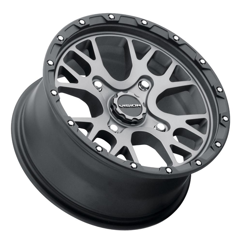 Vision Wheels 545 Rocker - Satin Grey Rim