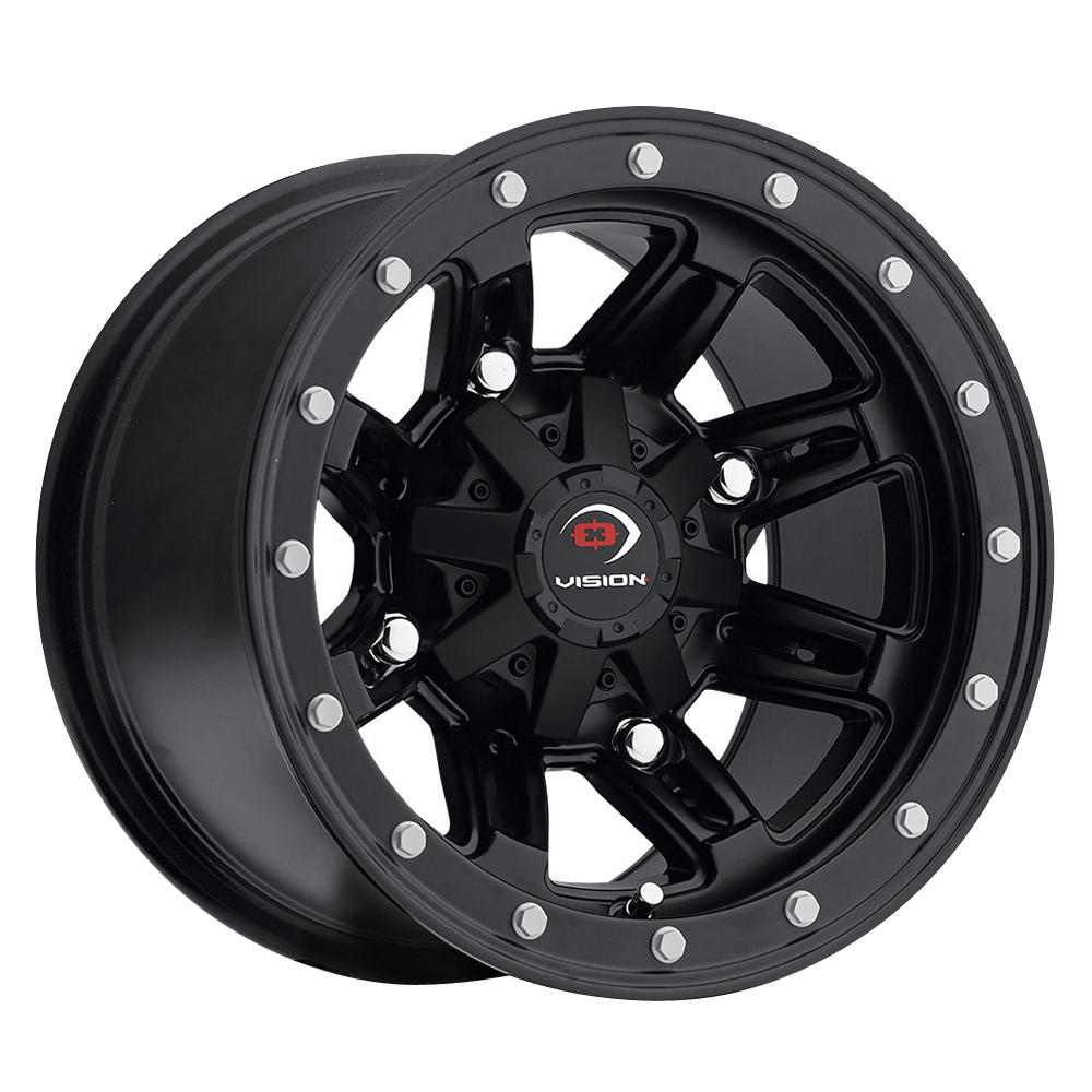 Vision ATV Wheels Five-Fifty - Matte Black Rim