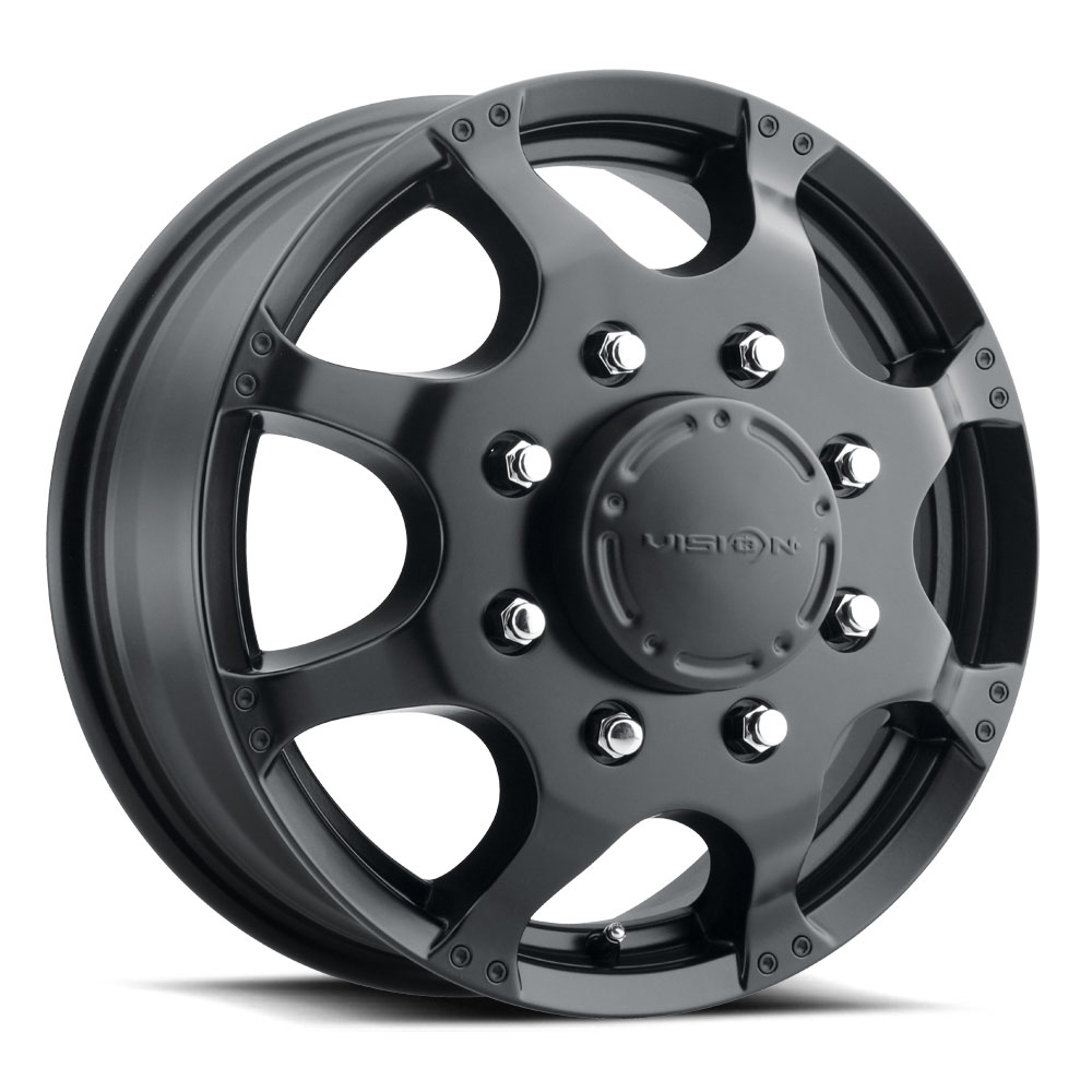 715 Crazy Eightz Duallie - Matte Black