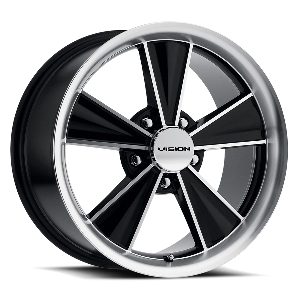 Vision Wheels Dazzler - Gloss Black Mirror Machined Face