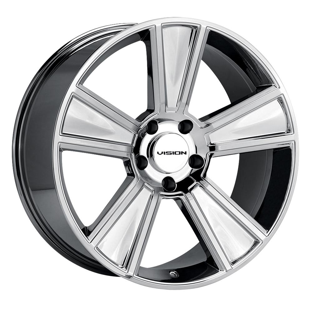 Vision Wheels V223 Stunner - Phantom Chrome Rim