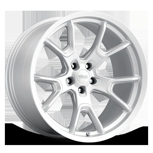 Replica by Voxx Wheels 50th Anniversary Edition - Matte Silver Rim