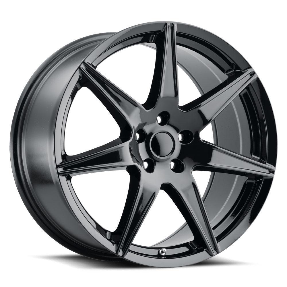 Replica by Voxx Wheels Mustang GT500 - Gloss Black Rim