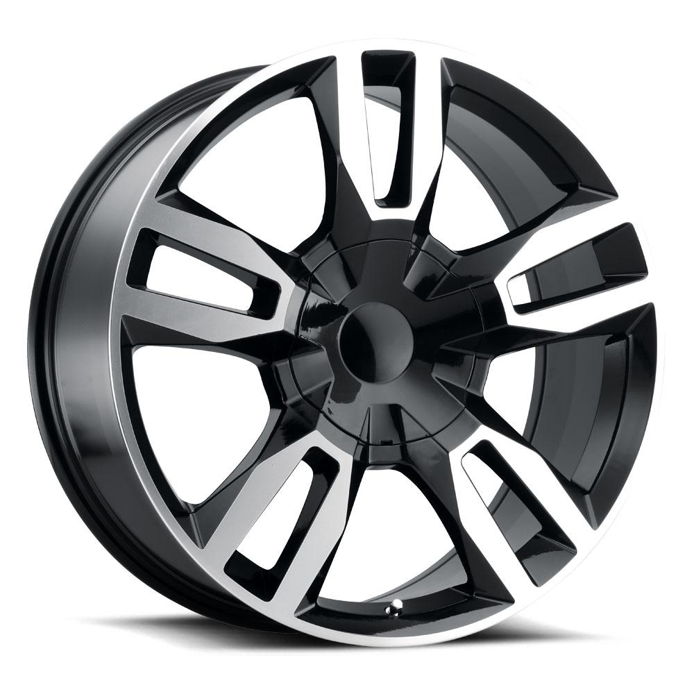 Replica by Voxx Wheels RST - Gloss Black Machined Face Rim