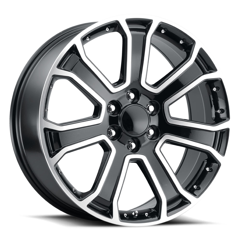 Replica by Voxx Wheels RXN - Gloss Black Machined Face Rim