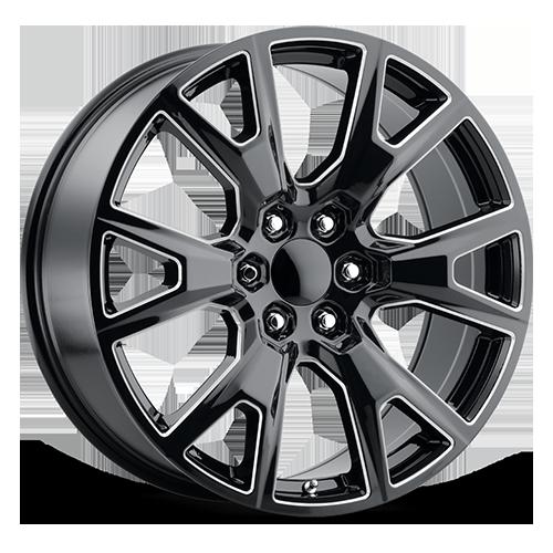 Replica by Voxx Wheels SEZ - Gloss Black Milled Rim