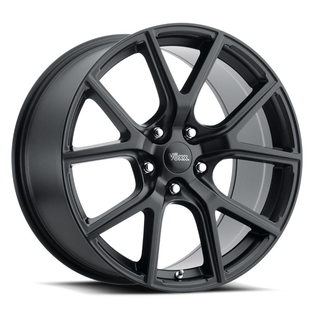 Voxx Wheels Track Hawk - Matte Black Rim