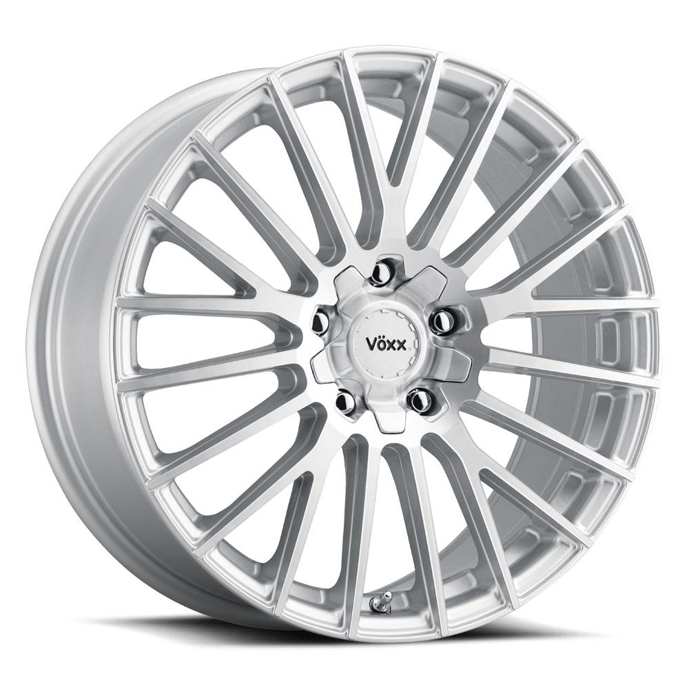 Voxx Wheels Capo - Silver Mach Face Rim