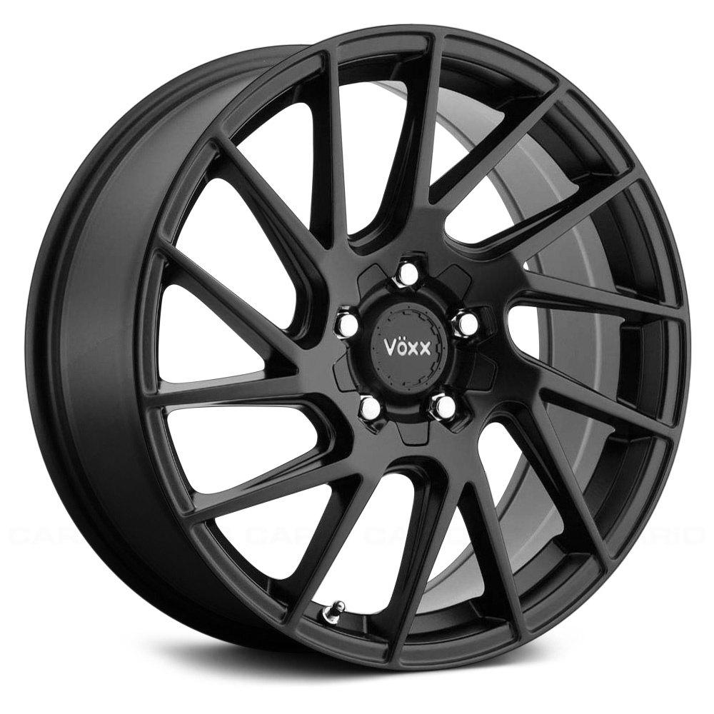 Voxx Wheels Falco - Matte Black Rim