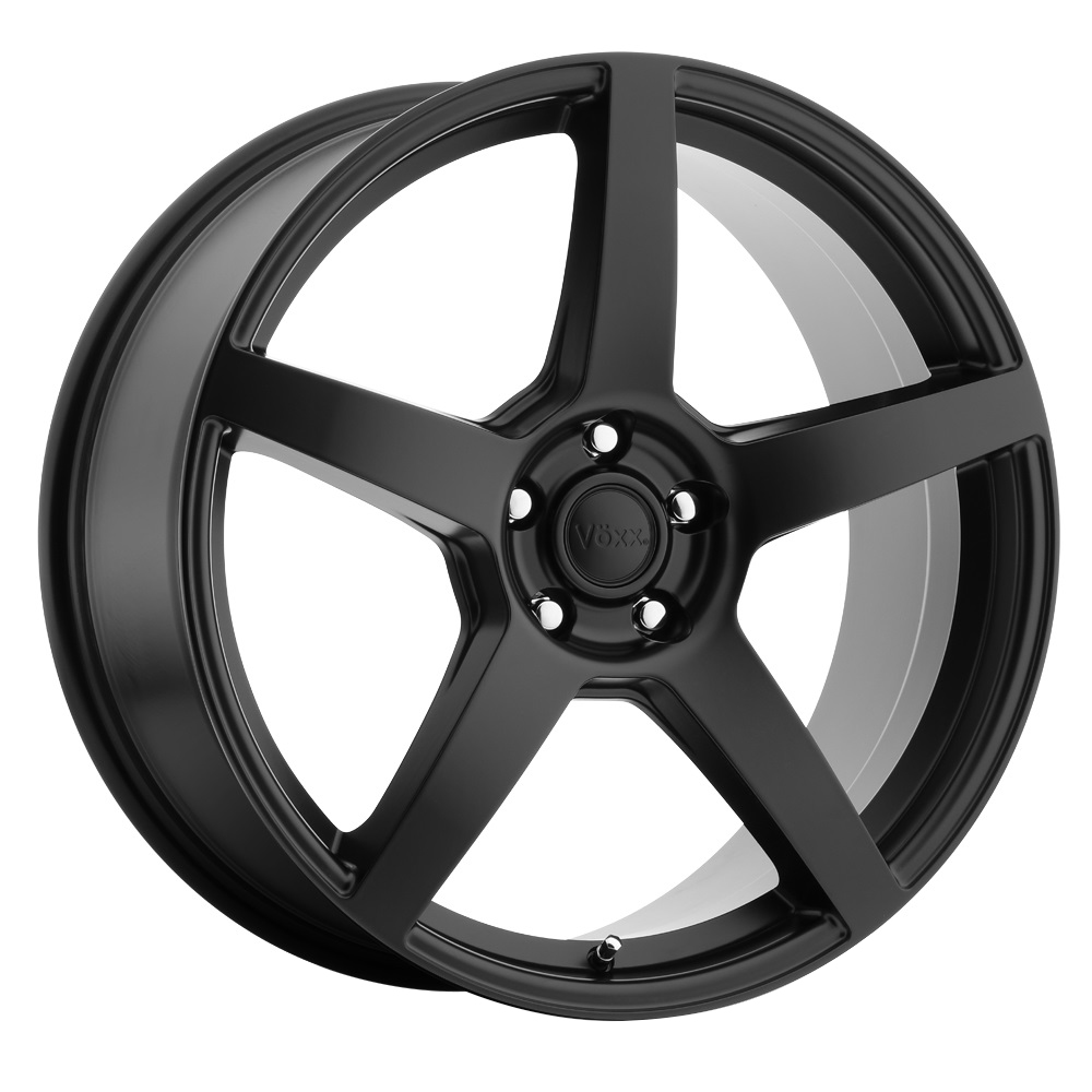 Voxx Wheels MGA - Matte Black Rim