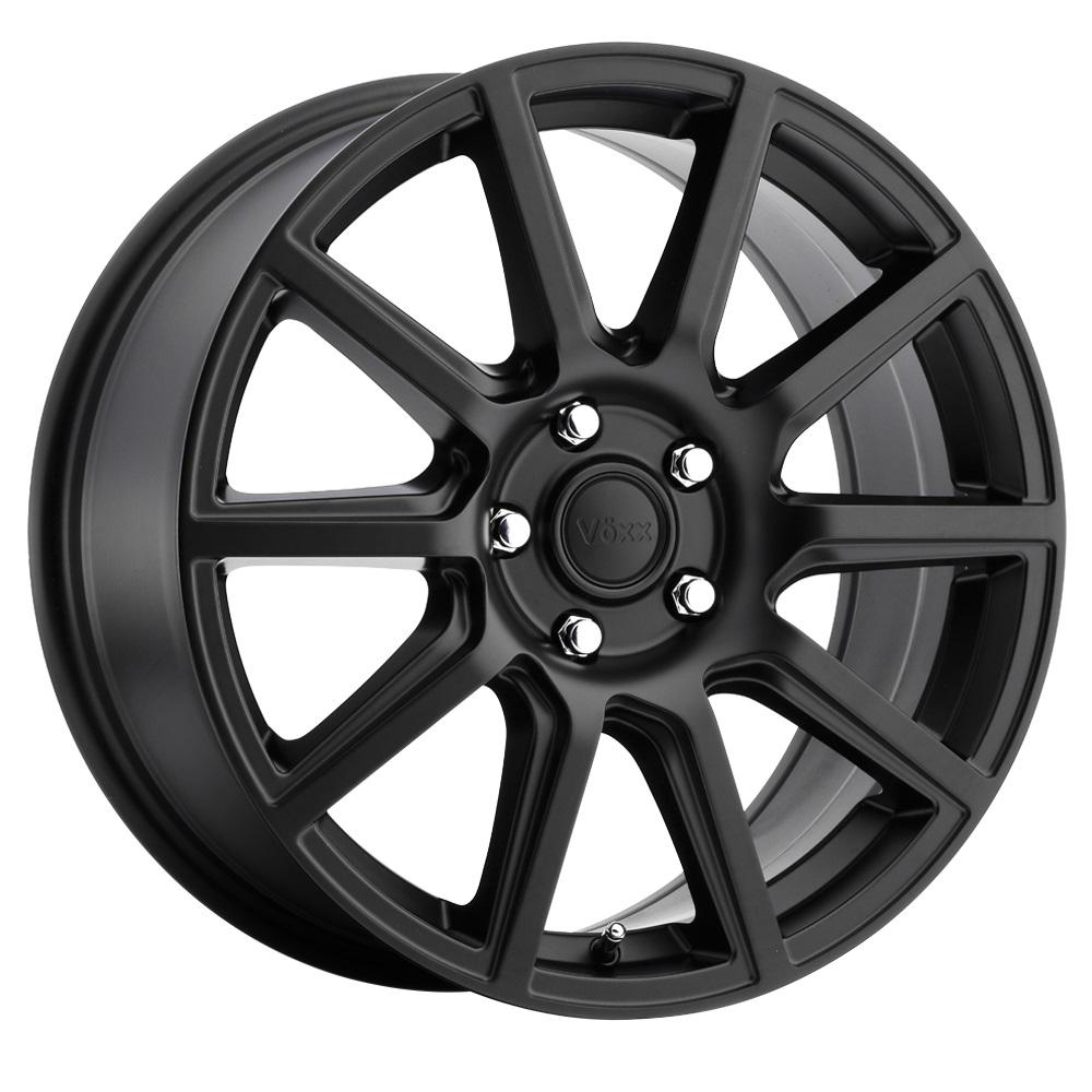 Voxx Wheels Mille - Matte Black Rim