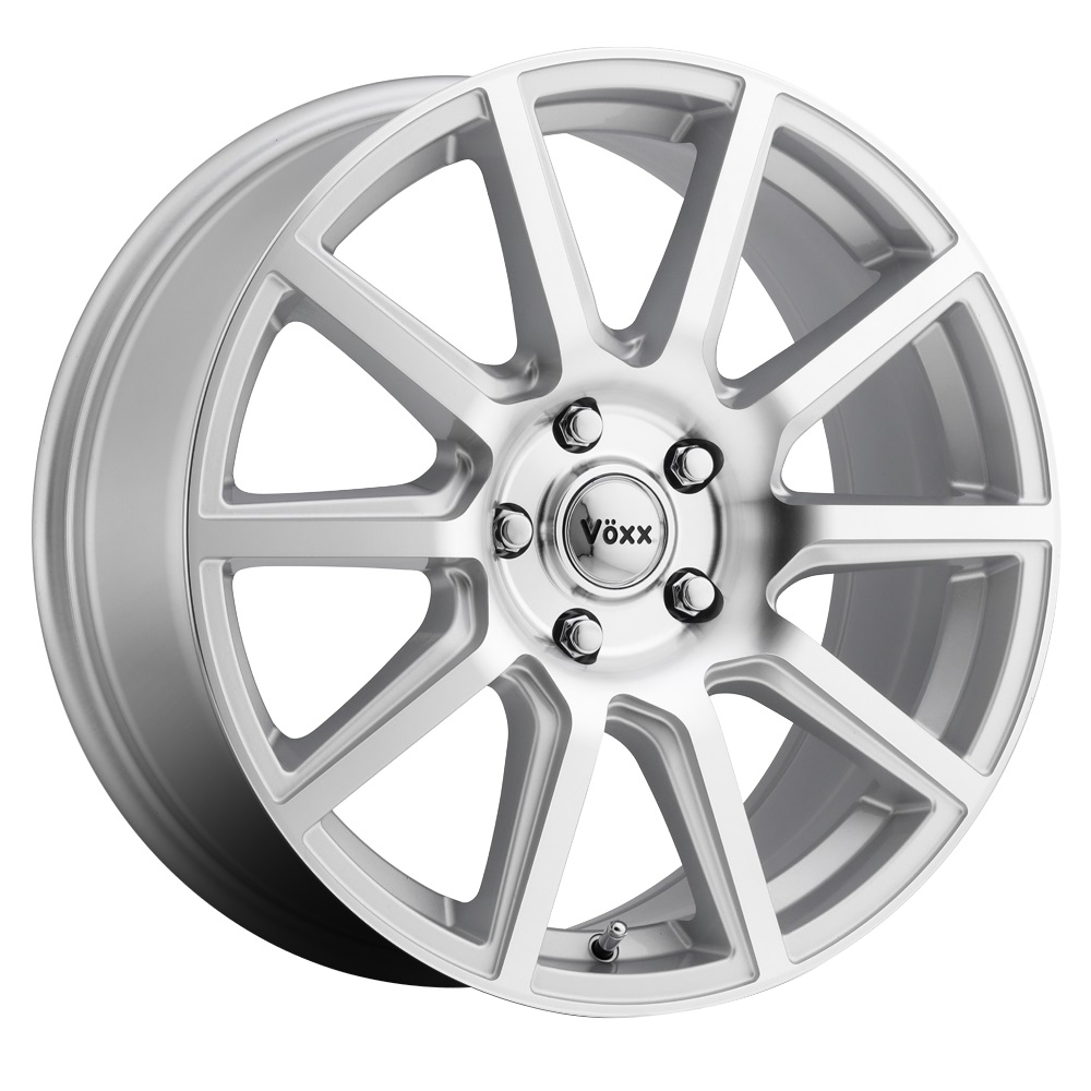 Voxx Wheels Mille - Silver Machined Face Rim