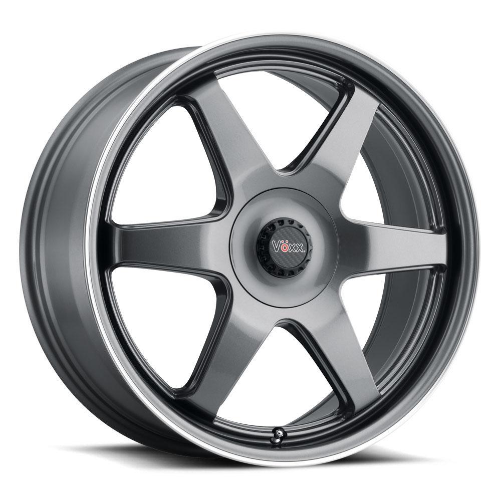 Voxx Wheels Riva - Gun Metal Mach Flange Rim