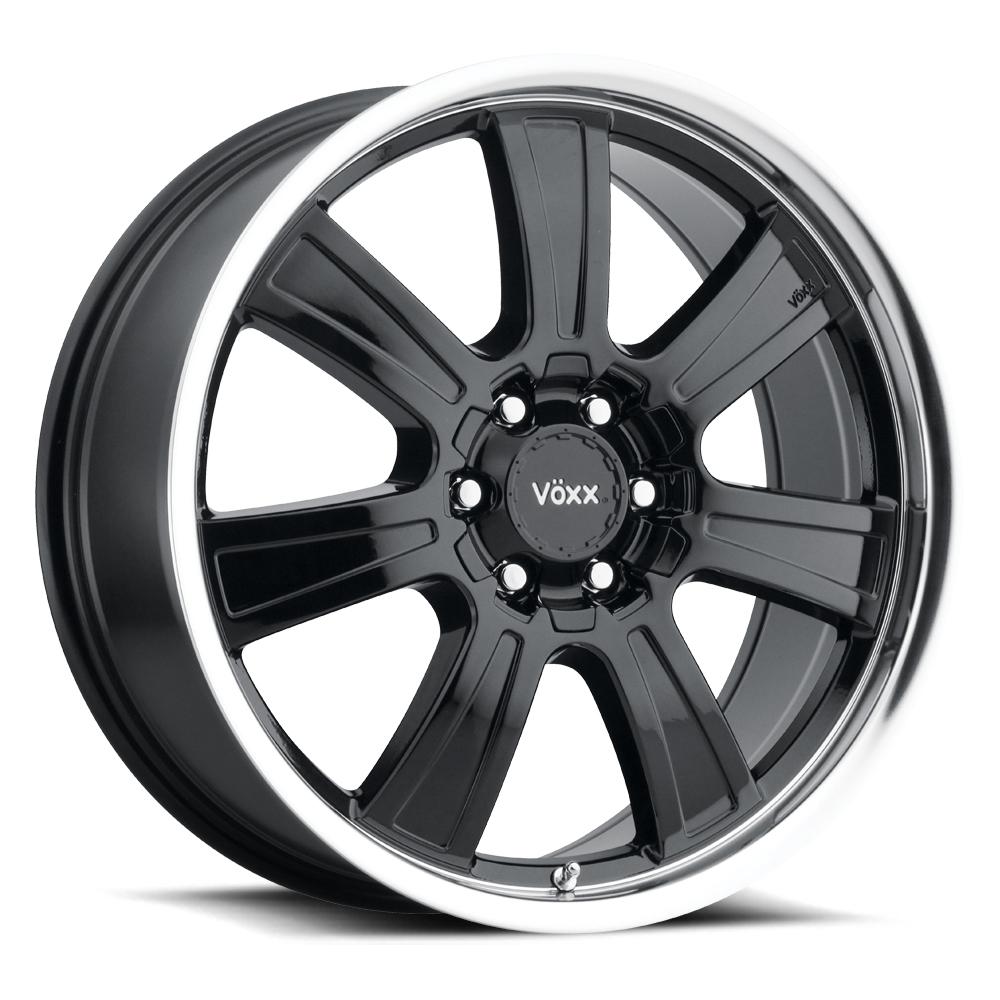 Voxx Wheels Turin - Gloss Black Mirror Machined Lip Rim
