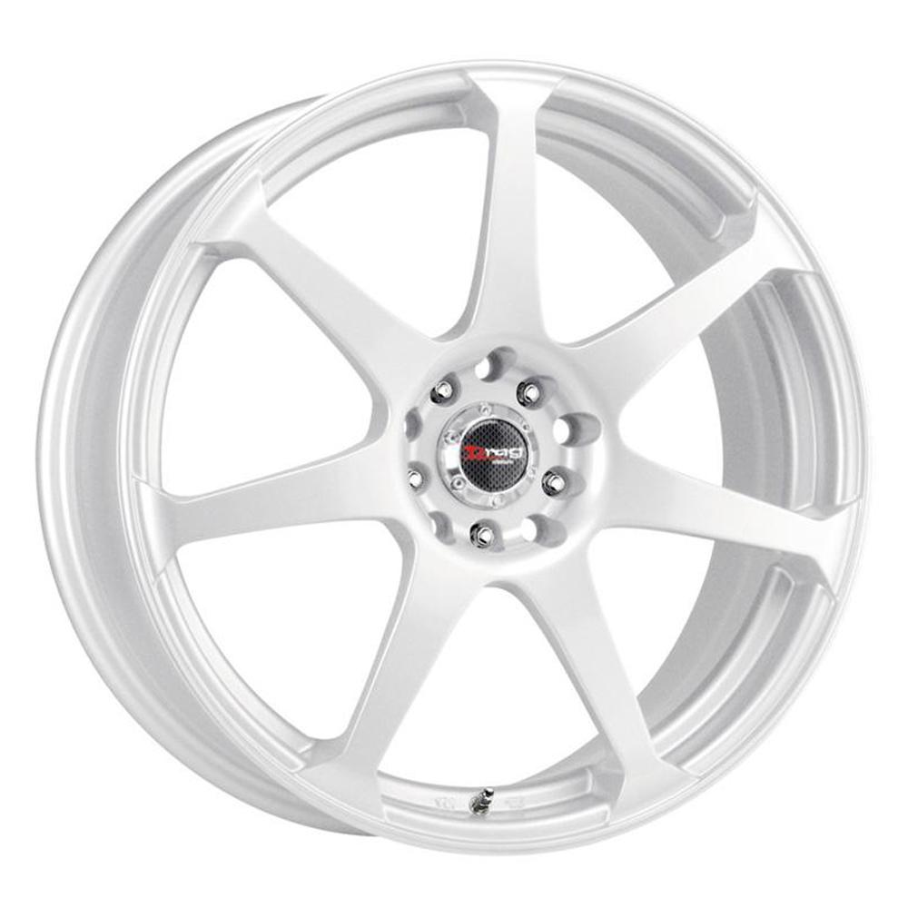 Drag Wheels DR33 - White Rim