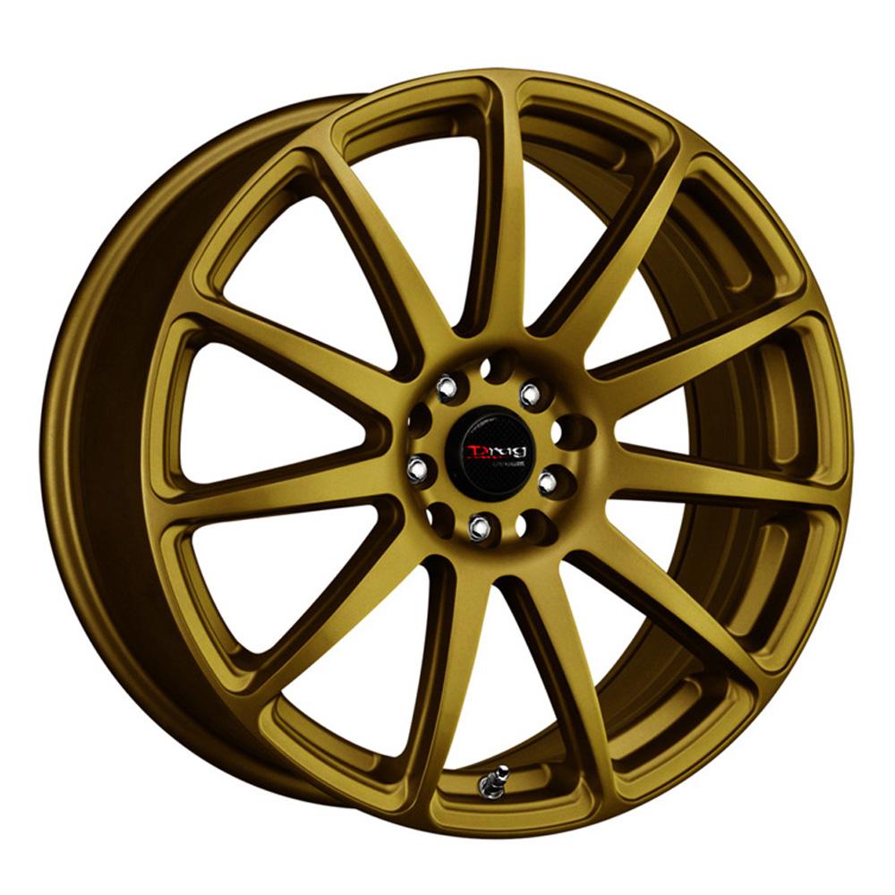 Drag Wheels DR66 - Gold Rim