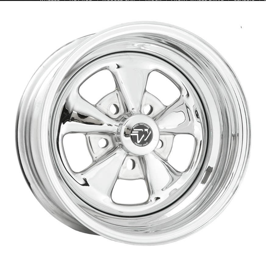 Wheel Vintiques 03 Series Comet - Chrome Rim