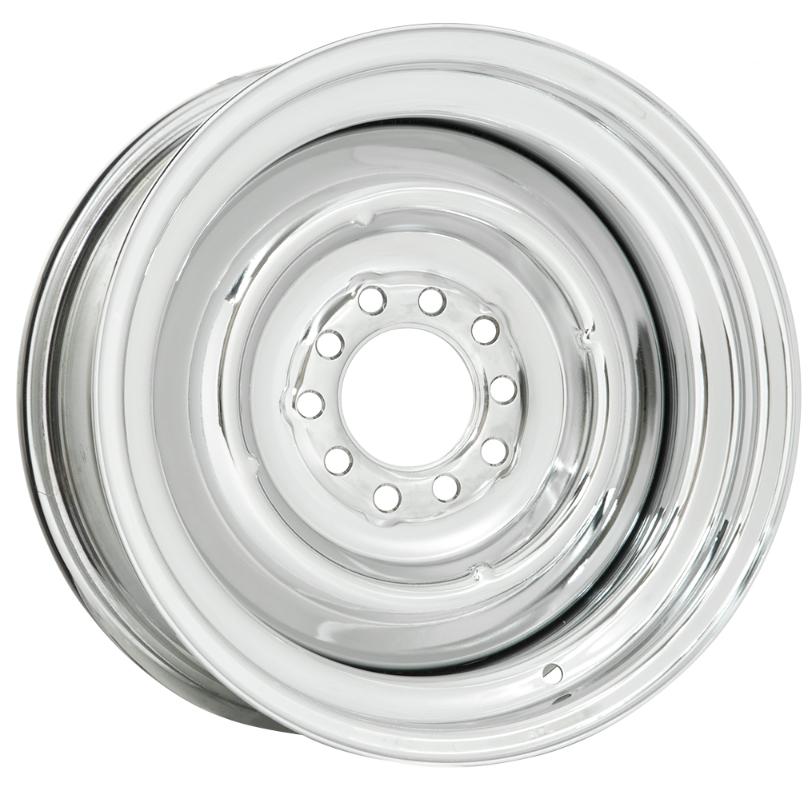 Wheel Vintiques 22 Series Solid - Chrome Rim