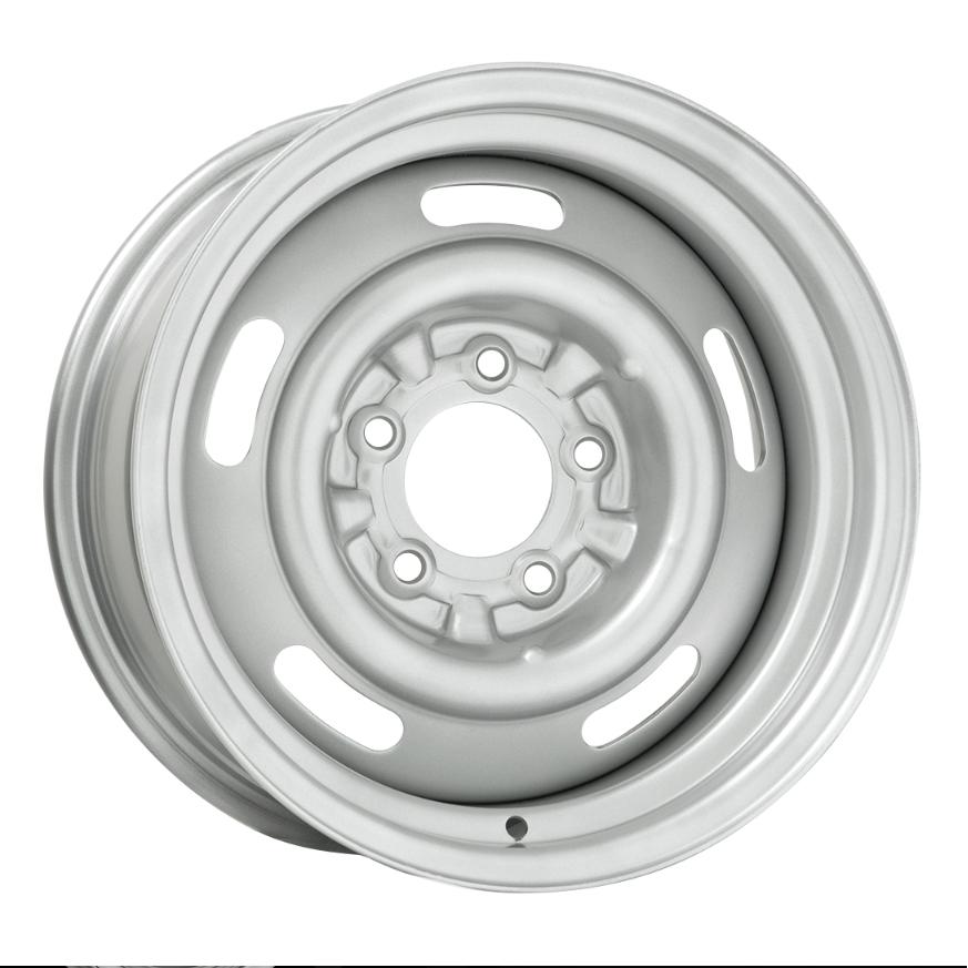Wheel Vintiques 37 Series 5 Lug Pickup Rallye - Silver Rim