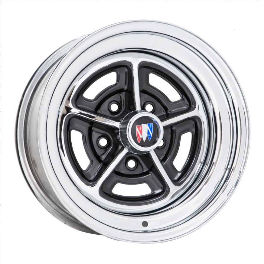 57 Series Buick Rallye - Chrome / Gloss Black Windows