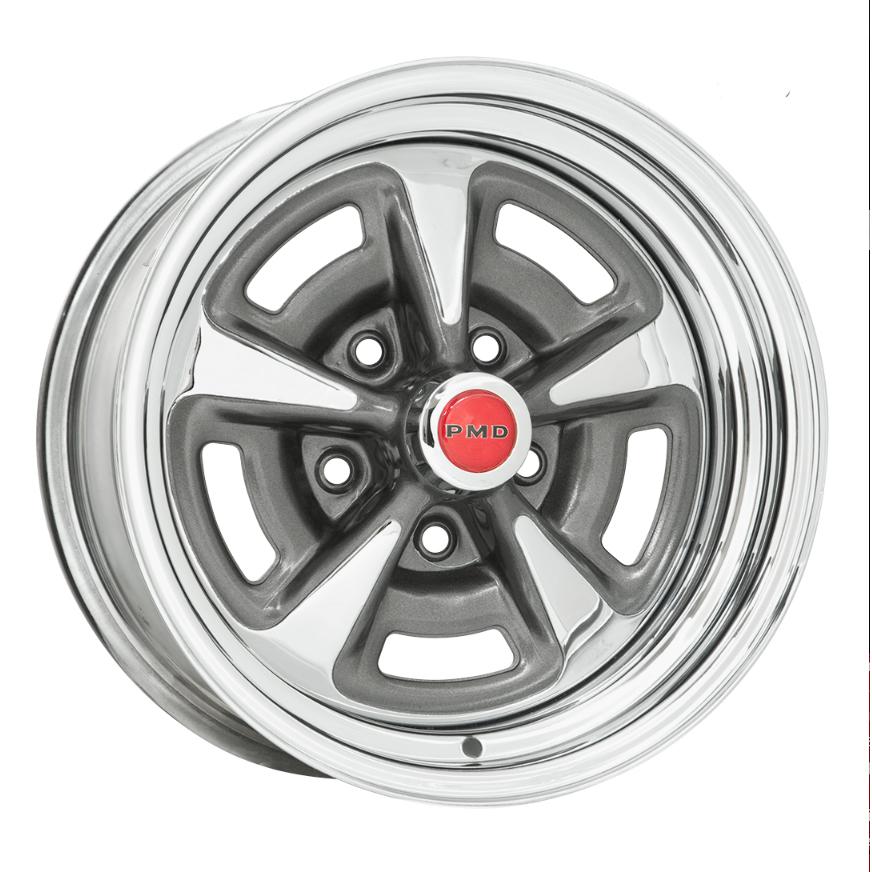 Wheel Vintiques 60 Series Pontiac Rallye II - Chrome Rim