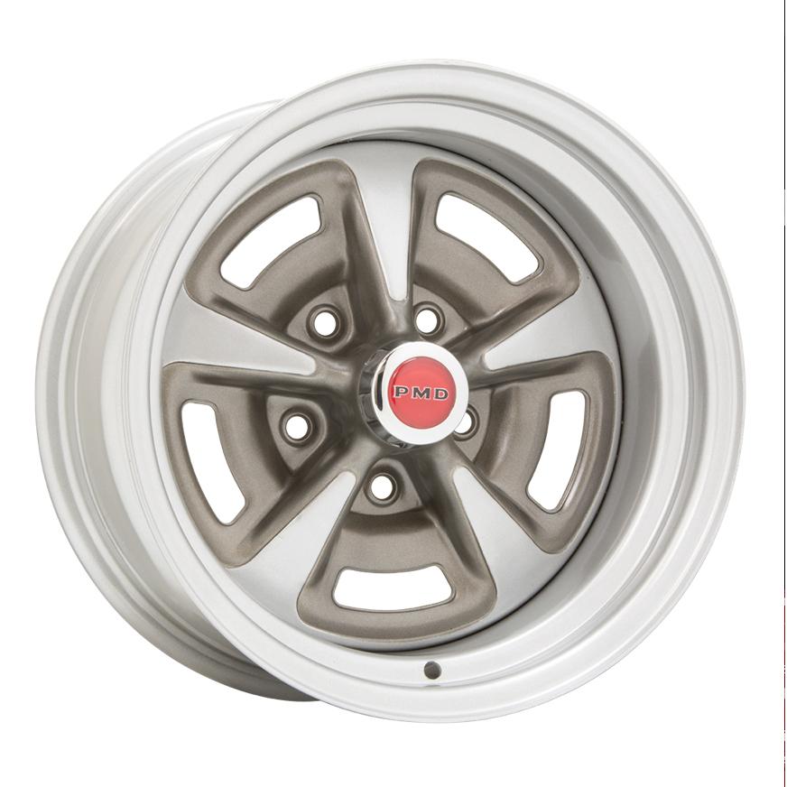 Wheel Vintiques 60 Series Pontiac Rallye II - Silver Rim