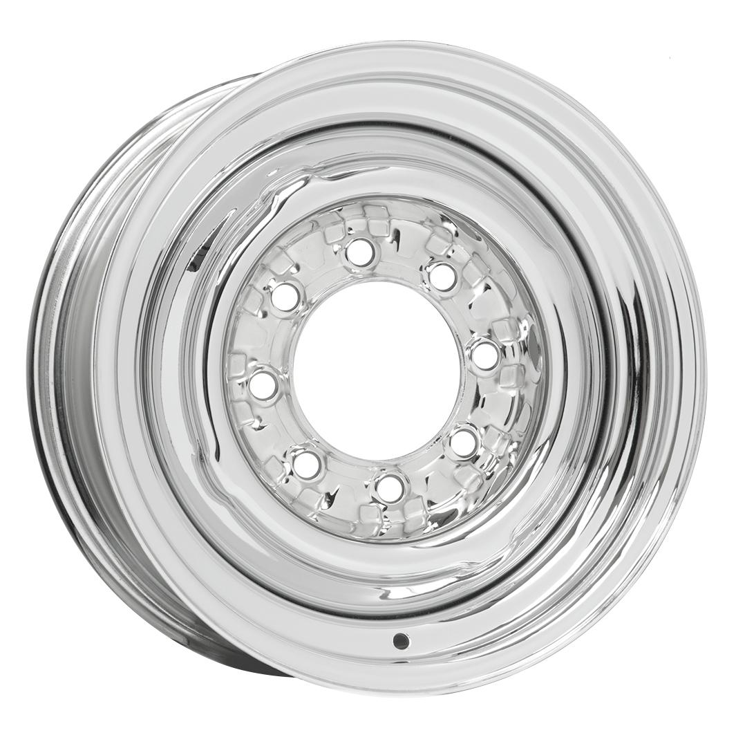 Wheel Vintiques 81 Series OE 8 Lug - Chrome Rim
