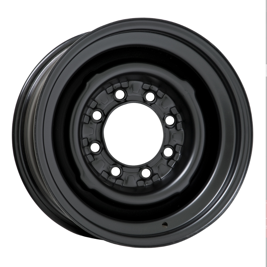 Wheel Vintiques 82 Series OE 8 Lug - Satin Black