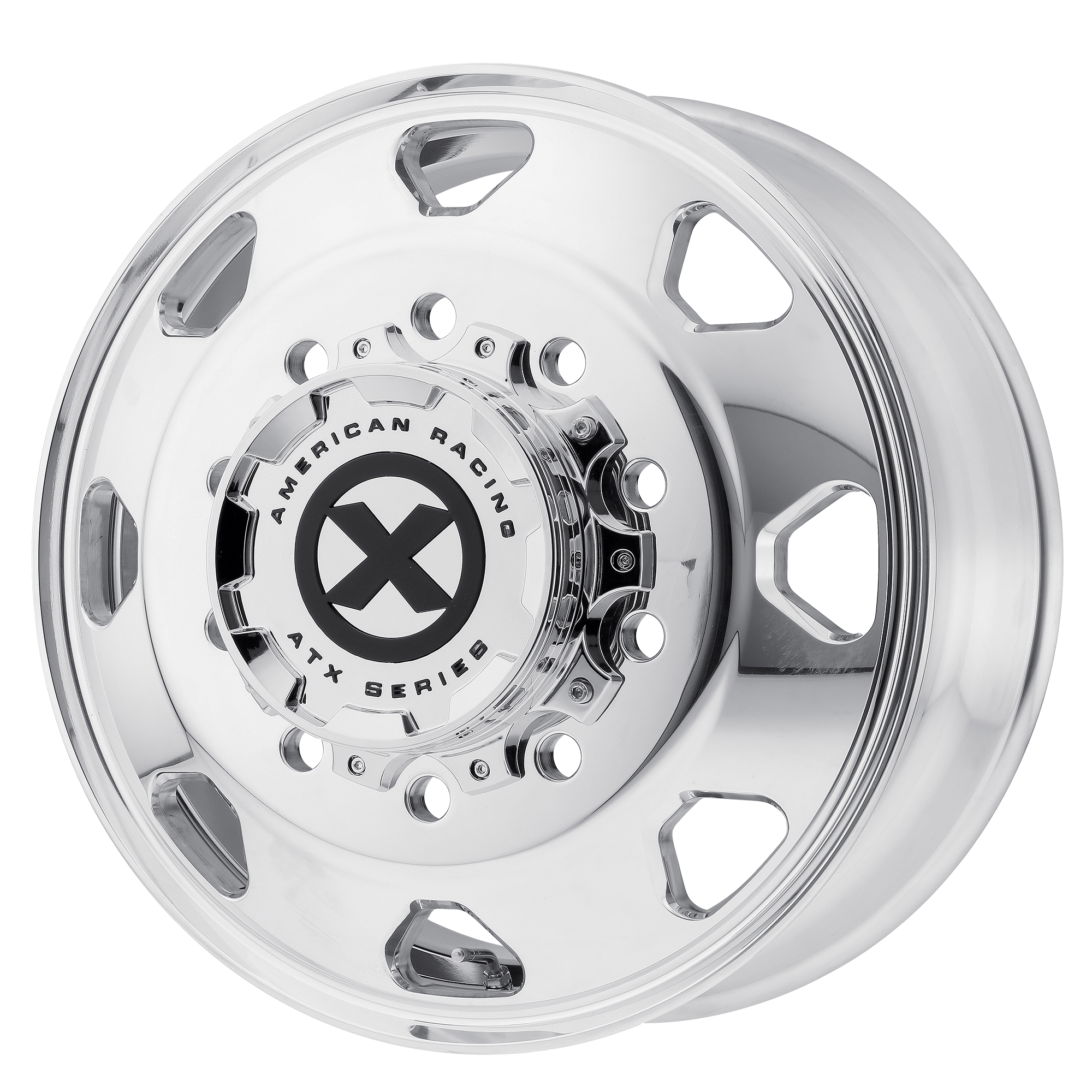 ATX Wheels AO401 Octane Front - Polished - Front Rim
