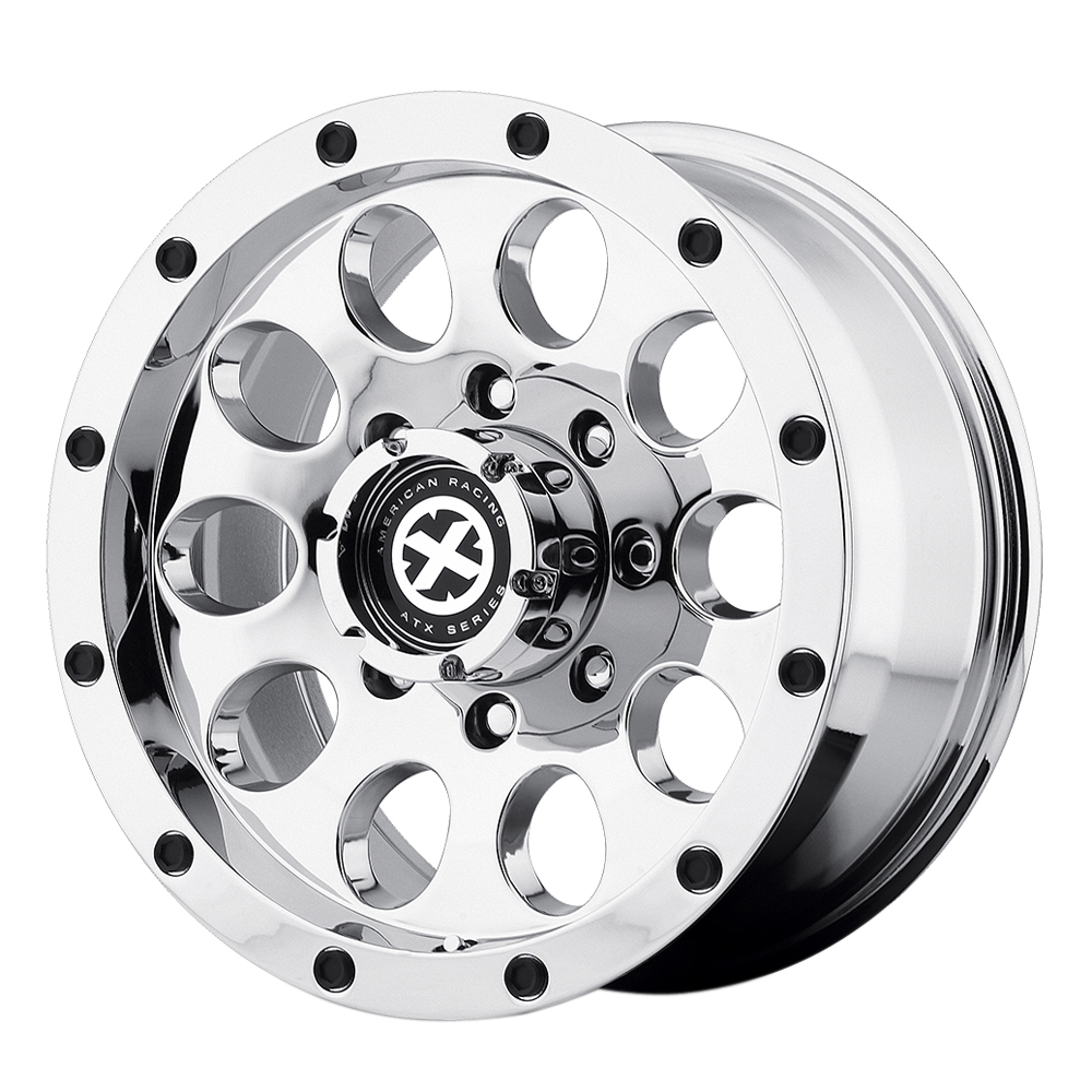 ATX Wheels AX186 Slot - Chrome Rim