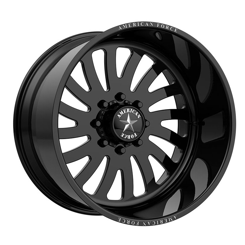 American Force Wheels AFW7474 Octane - Gloss Black Rim