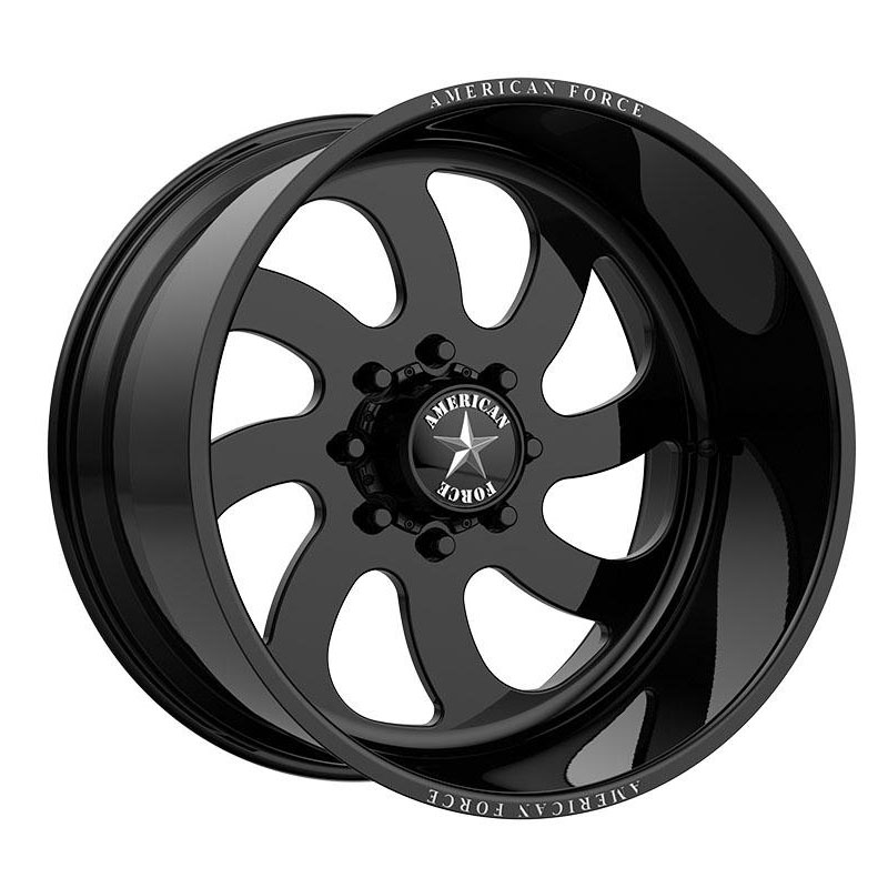 American Force Wheels 76 Blade (Right) - Gloss Black Rim