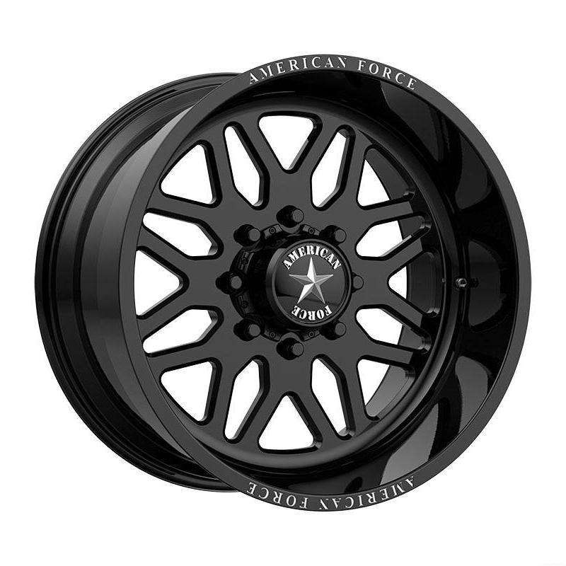 American Force Wheels B02 Trax - Gloss Black Rim